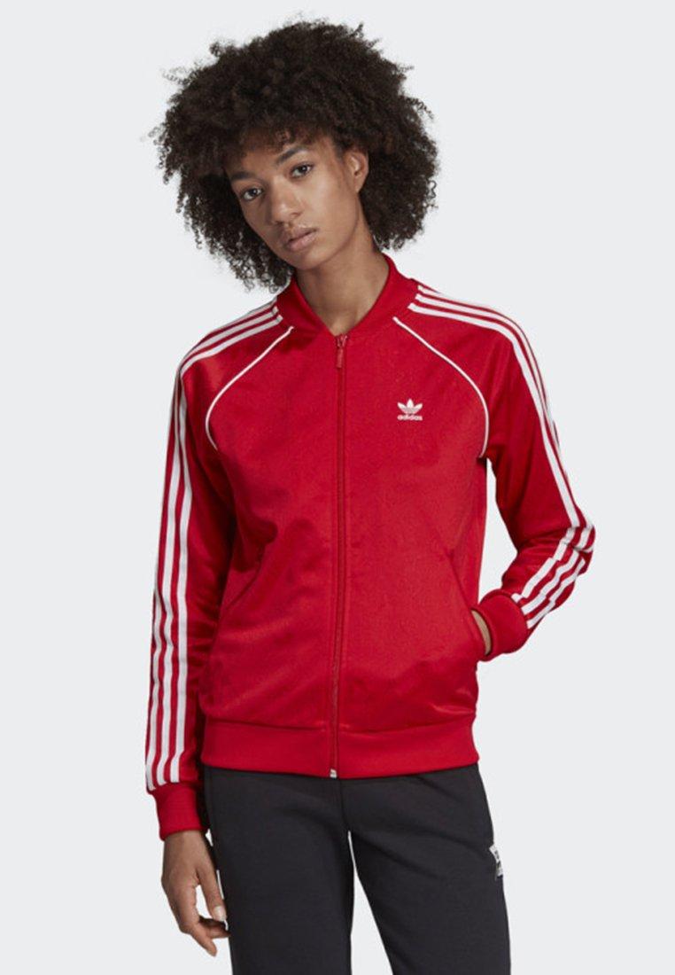 adidas Originals - SST TRACK TOP - Bombejakke - red
