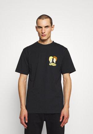 SMALL B&B UNISEX - T-shirts med print - black