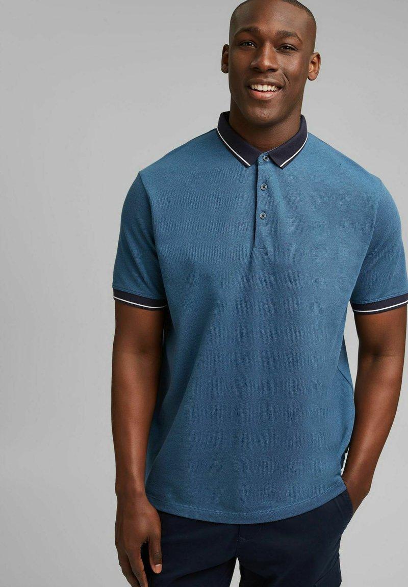 Esprit - Polo shirt - petrol blue