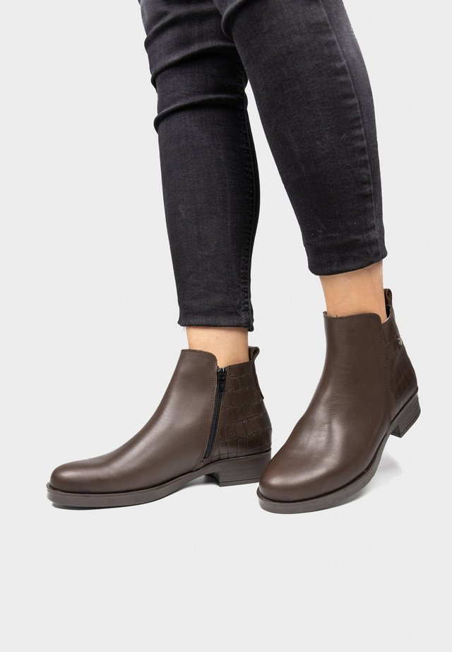 Ankle boots - brun