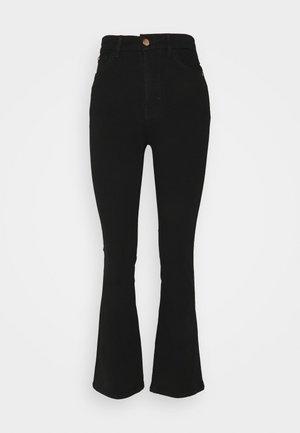 MAGIC - Bootcut jeans - black denim