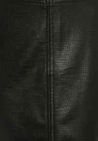 Noisy May Tall - NMLISSY SHORT SKIRT TALL - Jupe crayon - black - 2
