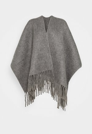 LADIES PONCHO - Mantella - grey