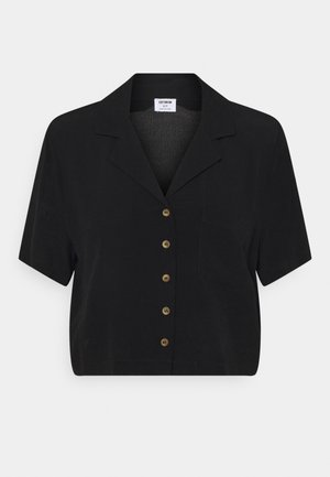 CROPPED SUMMER - T-shirt print - black