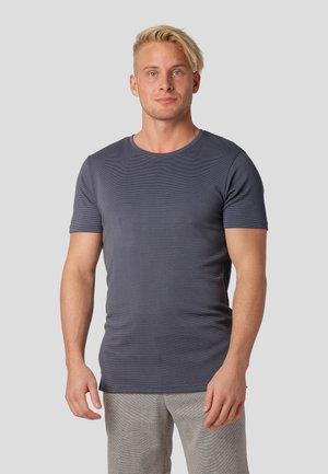 T-shirt med print - magnet grey