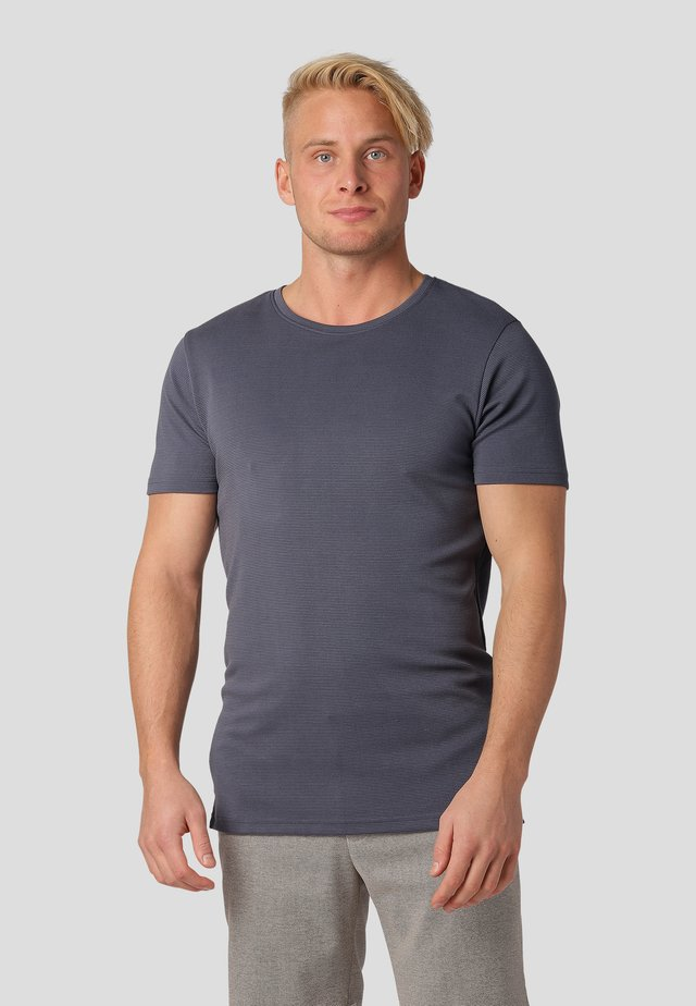 Print T-shirt - magnet grey
