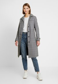 Superdry - EDIT REFLECK CAR COAT - Trench - silver - 0