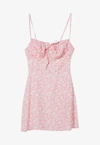 Bershka - Sukienka letnia - pink - 4