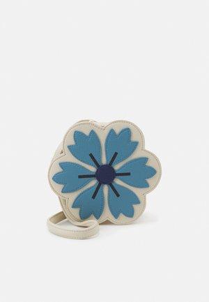 FLOWER BAG - Taška spříčným popruhem - blue