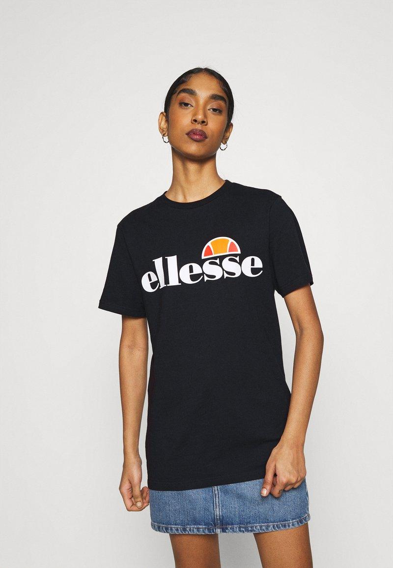 Ellesse - ALBANY - T-shirts print - black