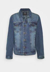 Brave Soul - FIELDING - Giacca di jeans - blue denim - 4