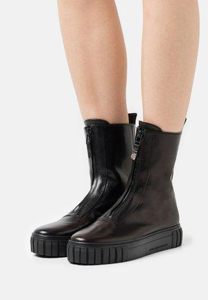 SUN - Platform ankle boots - schwarz