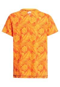 WE Fashion - Print T-shirt - bright orange - 4