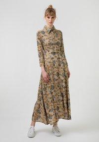 Touché Privé - FLOWER  - Maxi dress - brown - 1
