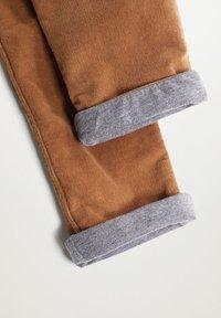 Mango - MORITZ - Trousers - tabákově hnědá - 2
