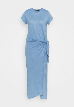 Maxi dress - chambray blue