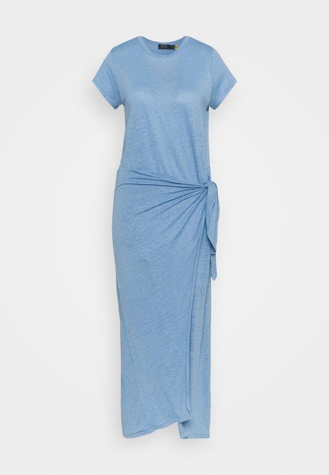 Vestito lungo - chambray blue