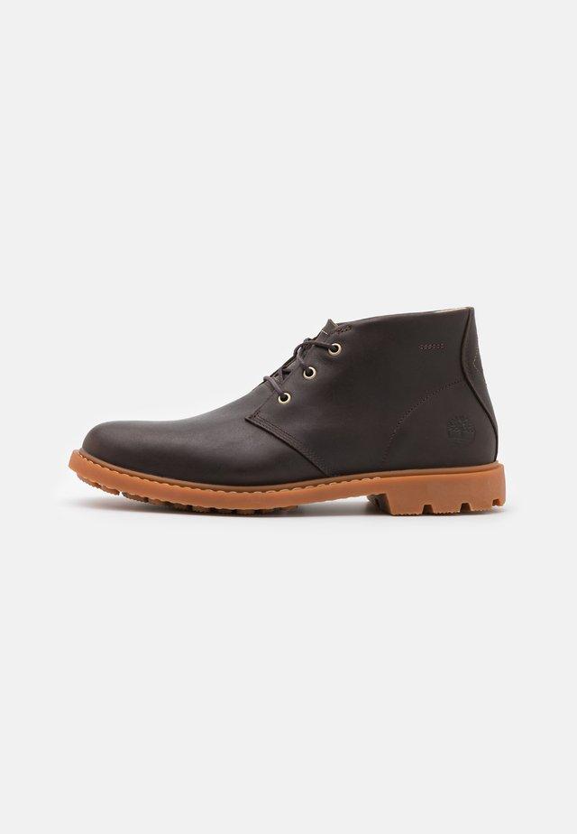 BELANGER CHUKKA - Chaussures à lacets - dark brown