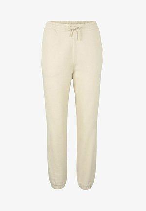 Tracksuit bottoms - soft creme beige