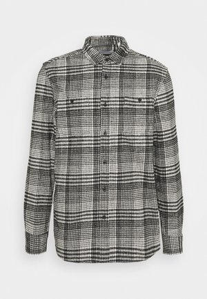 MONO CHECK SMALL SCALE - Shirt - black