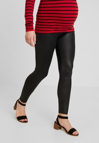 LOVE2WAIT - SHINY - Leggings - Trousers - black - 0