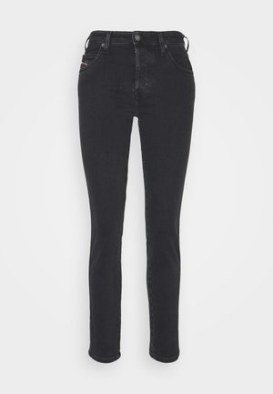 BABHILA - Slim fit jeans - washed black