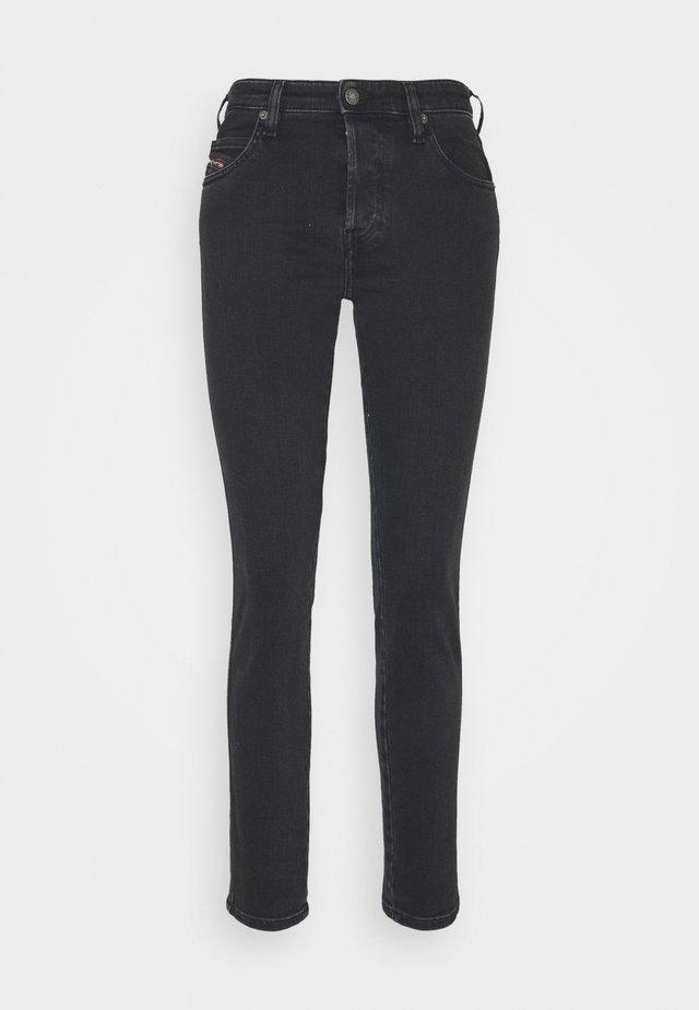 BABHILA - Slim fit jeans - washed black