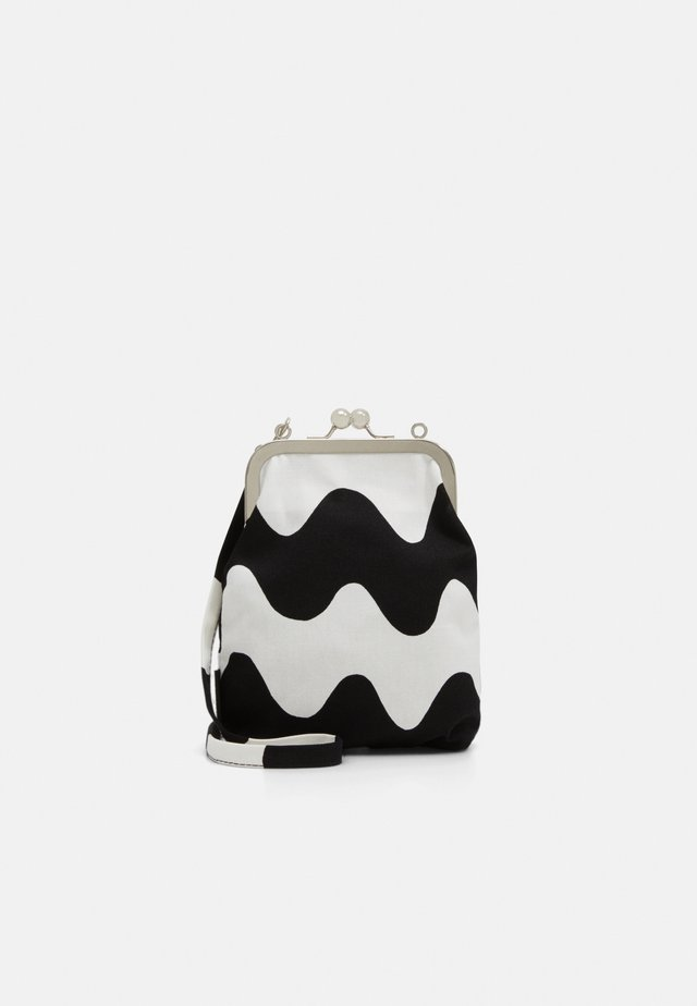 AINIKKI PIKKUINEN LOKKI BAG - Across body bag - white/black
