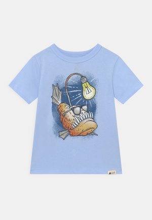 TODDLER BOY GRAPHIC - T-shirt con stampa - bicoastal blue