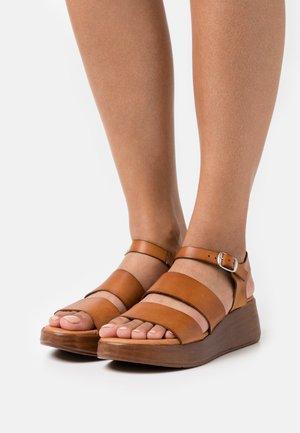 MONKI - Platform sandals - cue