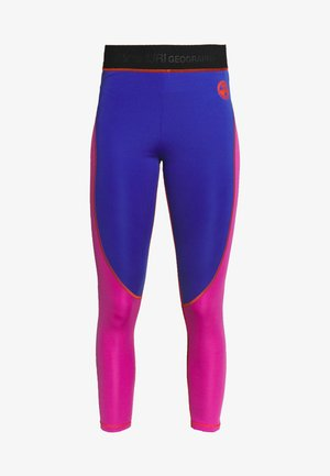 MILBE - Leggings - Trousers - blu/purple