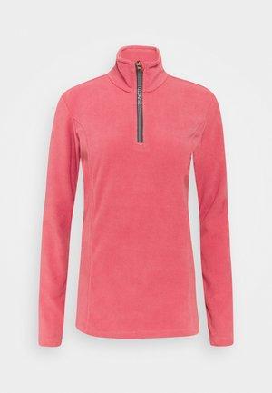 MISMA WOMEN - Fleece jumper - pink grape
