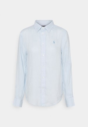 PIECE DYE - Button-down blouse - beryl blue