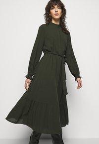 Bruuns Bazaar - NORI SICI DRESS - Shirt dress - green night - 3