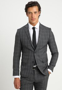 Lindbergh - MENS SUIT SLIM FIT - Completo - grey check - 2