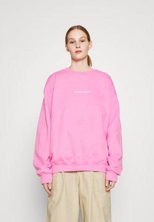 GRAPHIC - Sweatshirt - pink