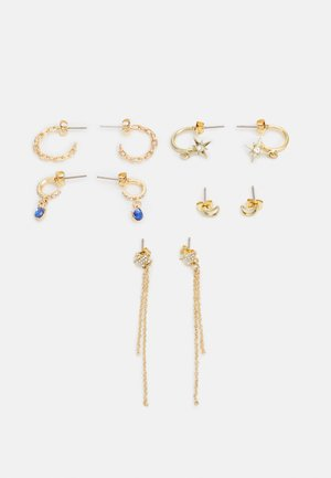 PCSTUR EARRINGS 5 PACK - Earrings - gold-coloured