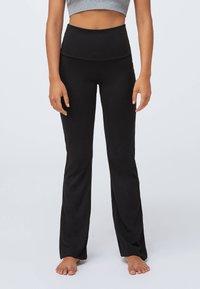 OYSHO - Pantalon classique - black - 0