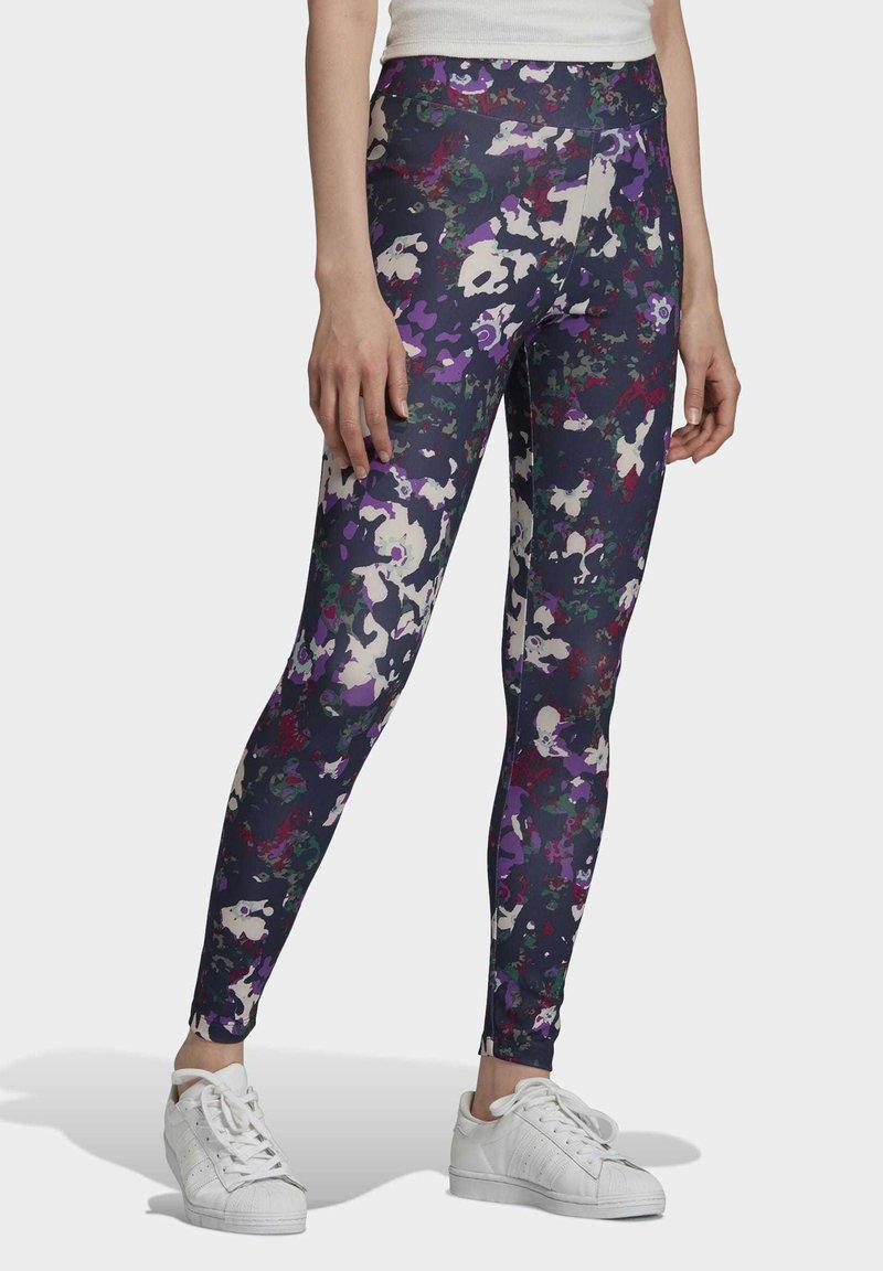 adidas Originals - BELLISTA SPORTS INSPIRED SLIM TIGHTS - Leggings - Trousers - multicolor