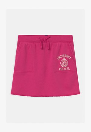 TERRY - Mini skirt - college pink