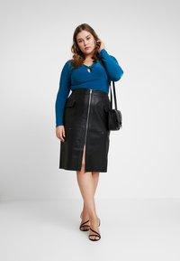 River Island Plus - Pencil skirt - black - 1