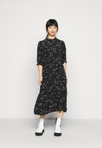 New Look Petite - PIECRUST PUFF STAR DRESS - Day dress - black - 0