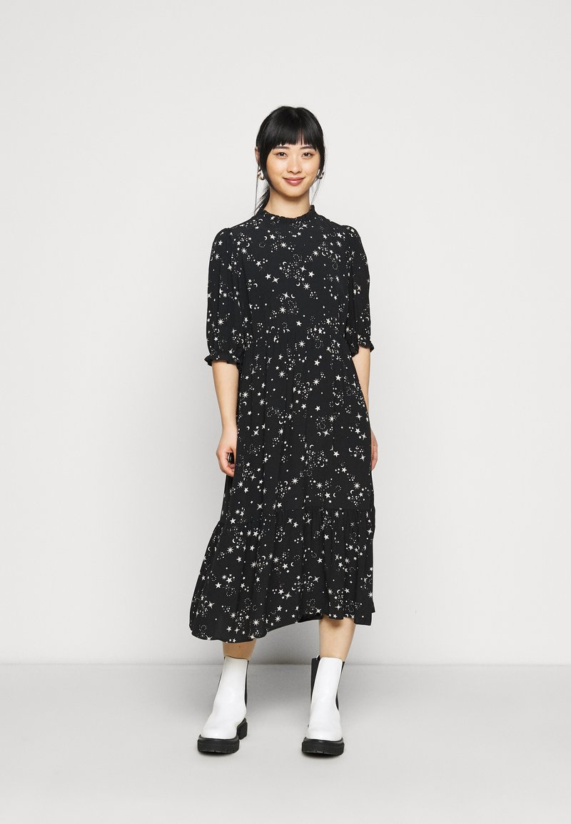 New Look Petite - PIECRUST PUFF STAR DRESS - Day dress - black