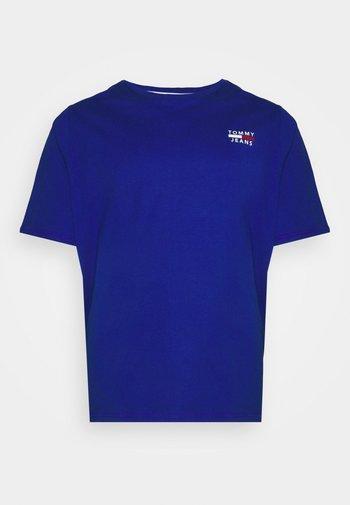 CHEST LOGO TEE - T-shirt - bas - cobalt