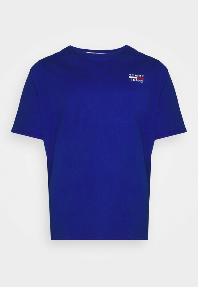 CHEST LOGO TEE - T-shirts - cobalt
