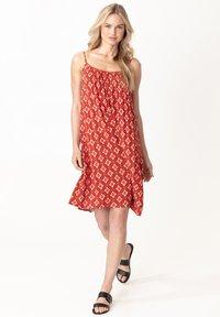 Indiska - SEFA - Day dress - red - 0