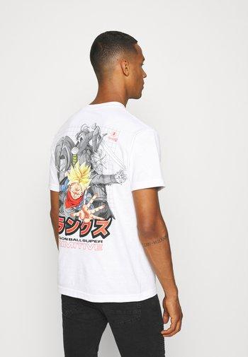 TRUNKS PHASE TEE - T-shirt med print - white