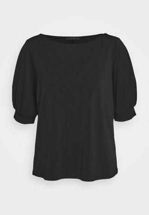 SPELA - T-shirt imprimé - black