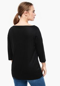 Triangle - MIT WASSERFALL - Long sleeved top - black - 2