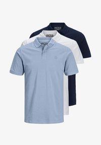 Jack & Jones - Polo shirt - white/infinity/navy - 3